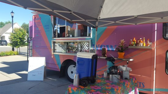 Sheridan, WY: Breakfast burrito at Bonafide!