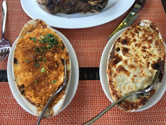 Raritan, NJ: lobster mac & cheese and potatoes gratin