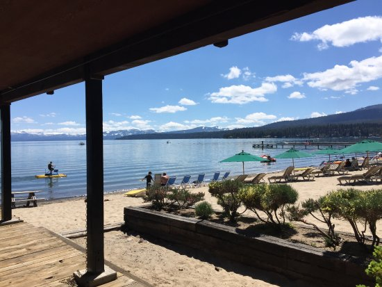 Tahoe Vista, CA: View from our room