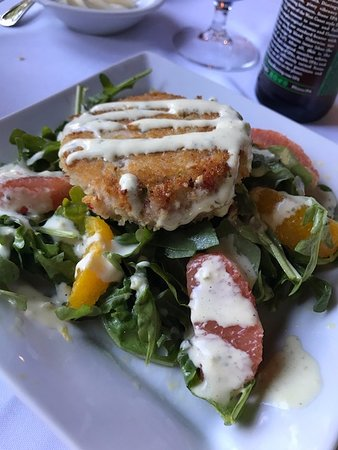 The Restaurant at Convict Lake: Crab and Argentinian Crab Cake