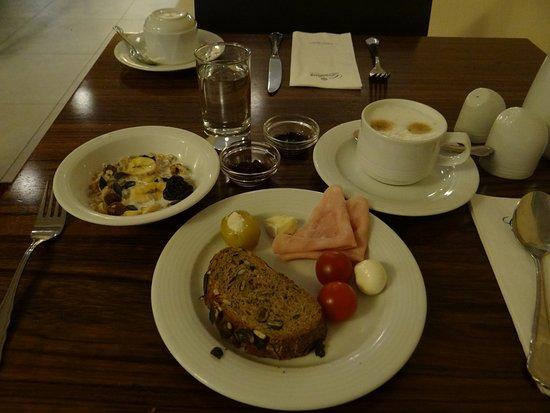 Hotel Alpha: my breakfast