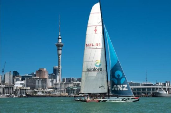 America's Cup Sailing on Auckland's...