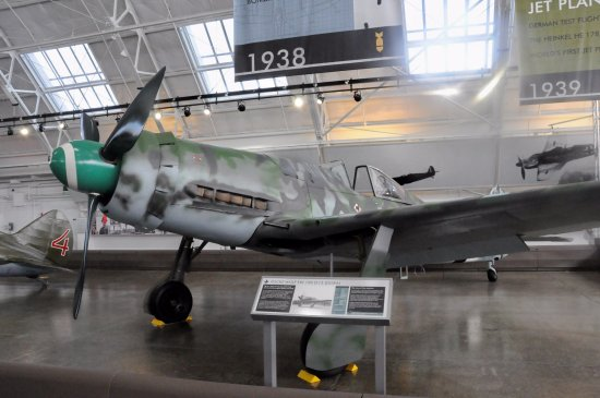 Everett, WA: Only Fw-190D-13 in the world!