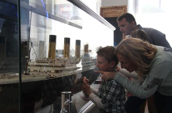L'expérience Titanic: billetterie...