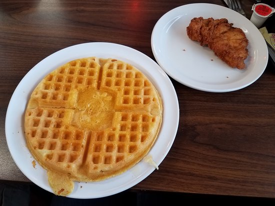 Hapeville, GA: Chicken and Waffle