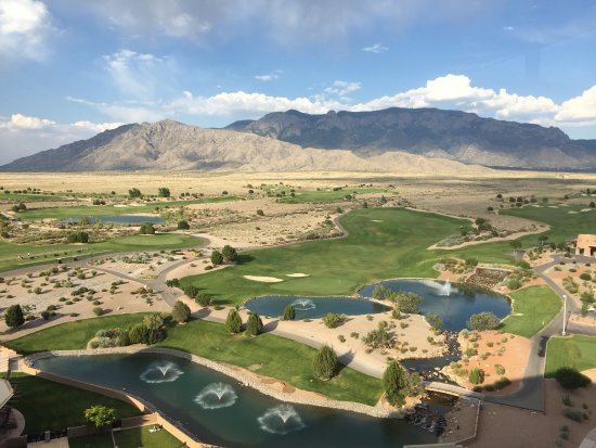 Sandia Resort & Casino: View from the Bien Shur restaurant