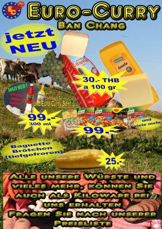 Ban Chang, Thailand: Käse und andere Sachen zum mitnehmen