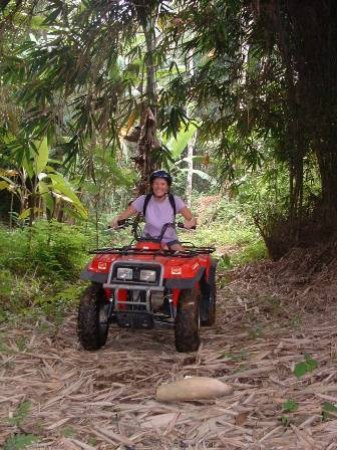 Kerobokan, Indonesia: adventure atv