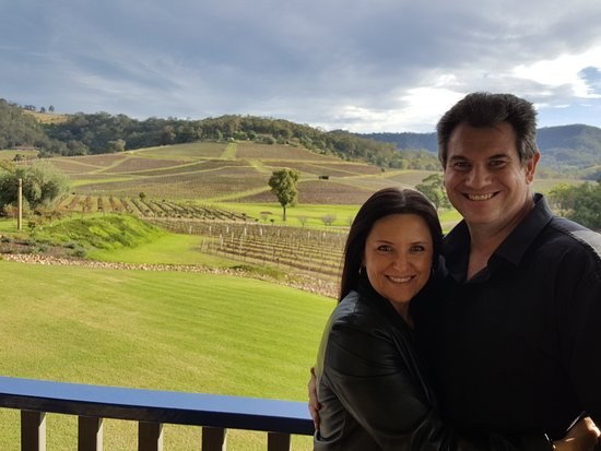 Pokolbin, Australia: Our first winery tour was amazing! A wonderful romantic weekend away...