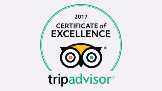 Certificate Excellence 2017 Villa Pollio