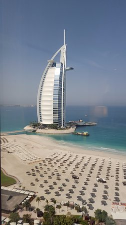 Jumeirah Beach Hotel: view from room