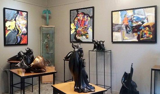 Auvillar, Francia: galerie d'art salle 2