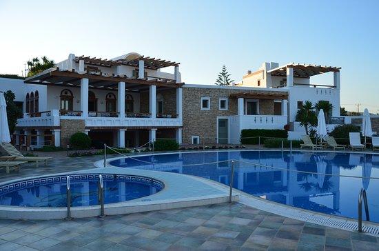 Porto Naxos Hotel : プールがあります