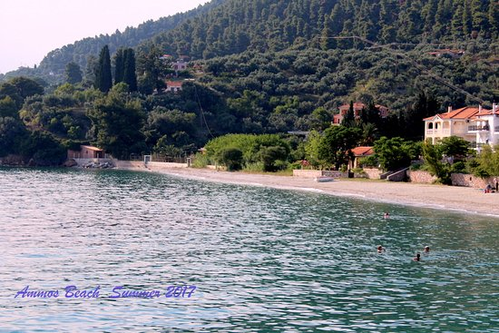 Neo Klima, اليونان: Ammos Beach with crystal clear sea waters