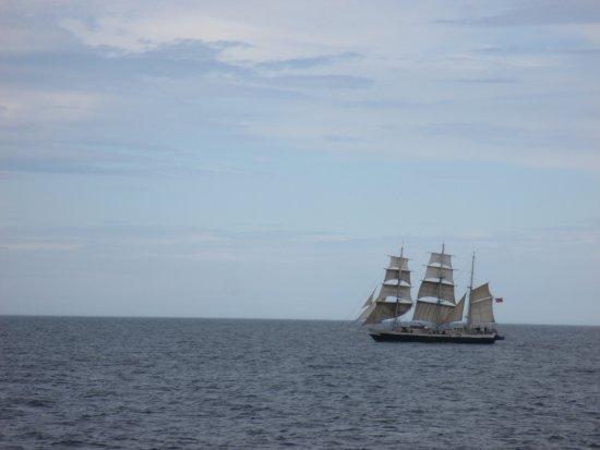 Grimsey Island, Islandia: schooner