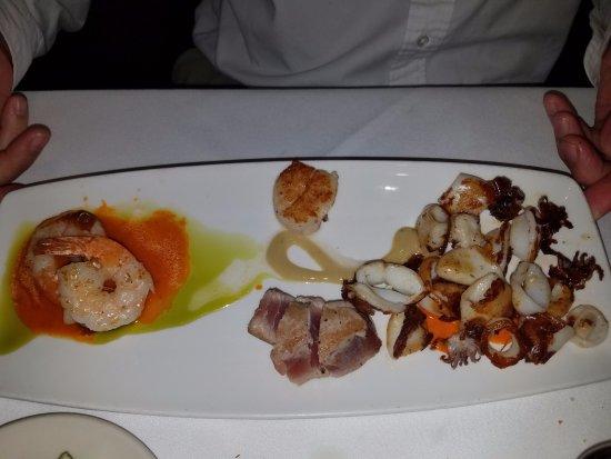 Корте-Мадера, Калифорния: seafood appetizer