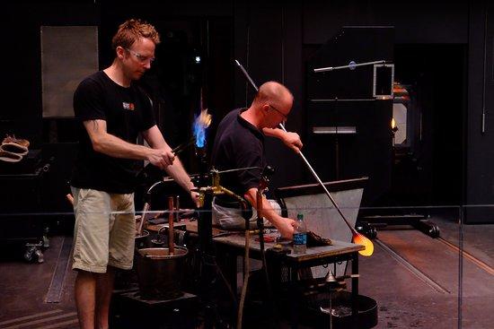 Corning, NY: performing