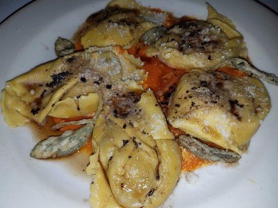 Corte Madera, CA: butternut squash ravioli