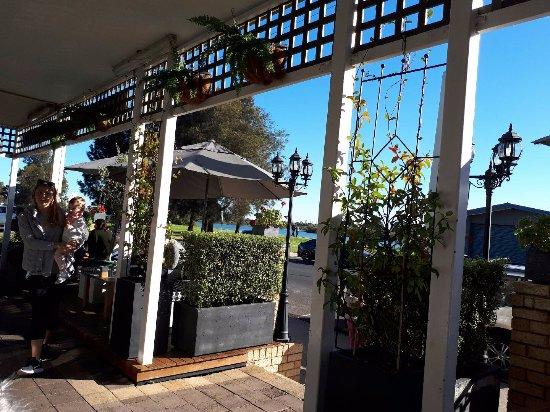 Bunbury, أستراليا: Lovely to sit outside on a nice day