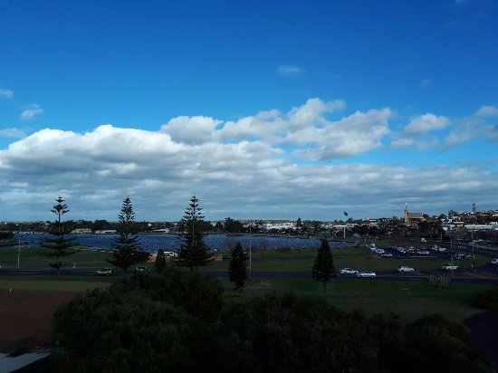 Bunbury, أستراليا: Over the bay from our room