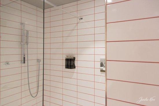 Ixelles, Belgium: The shower