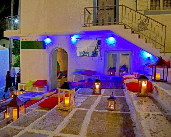 Ios, Greece: Steps Bar