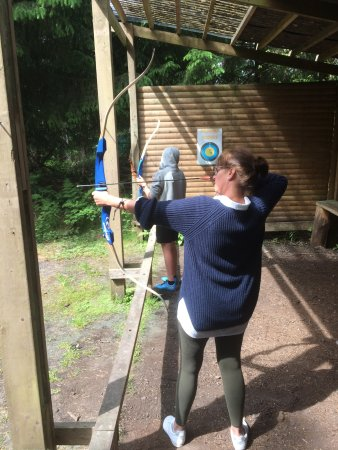 Pickering, UK: Archery