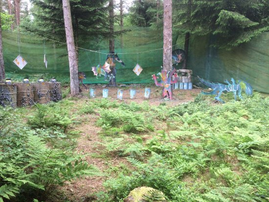 Pickering, UK: PaintBall targets
