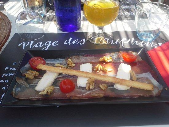 Charavines, Francia: Speck saint-marcellin et noix