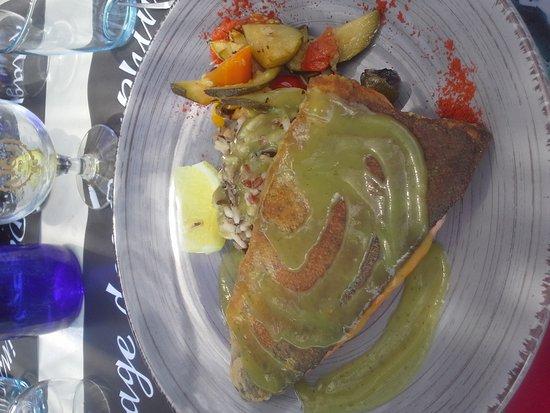 Charavines, Francia: Truite saumonée