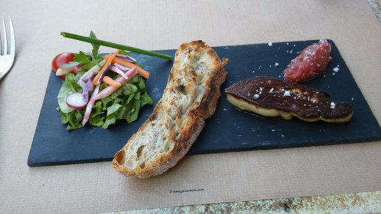 Saint-Denis d'Oleron, France: FOIE GRAS
