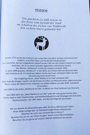 Aumuhle, Tyskland: La storia del posto
