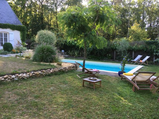Montbazon, Frankrijk: A few views from our stay at the Logis du Lievre d'Or
