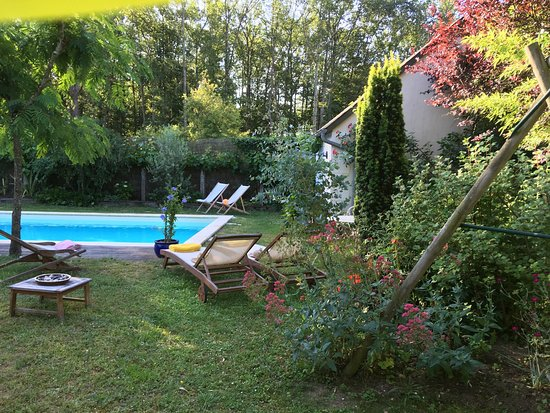 Montbazon, France: A few views from our stay at the Logis du Lievre d'Or