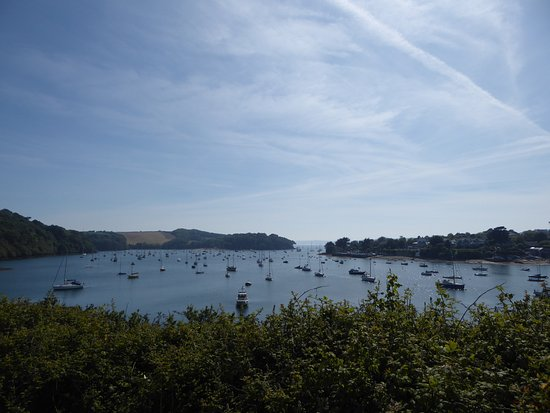 St Mawes, UK: This was taken from a walk a few days later- this is where paddled our kayaks