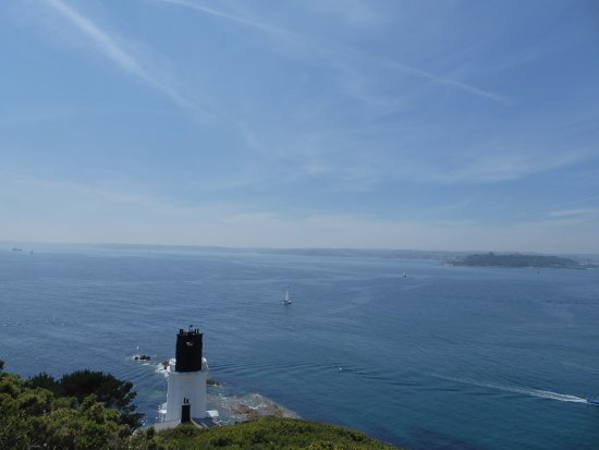 St Mawes, UK: The light house