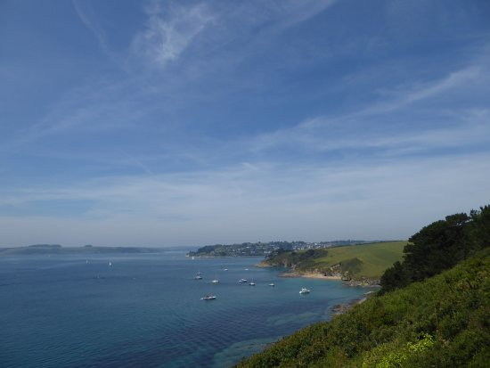 St Mawes, UK: View from walk