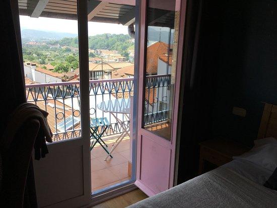 Hotel San Nikolas : Le balcon