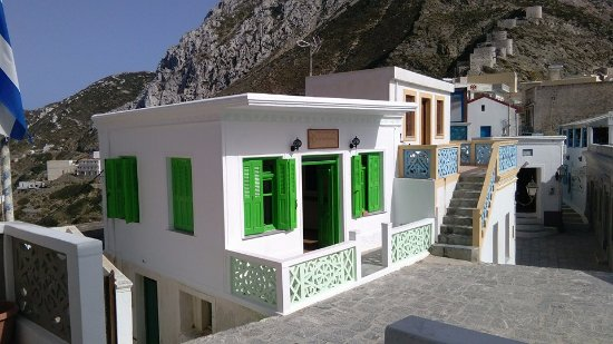 Olympos, Hellas: What you see from the church