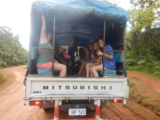 Rivers Fiji - Day Adventures: the lorry we were put on