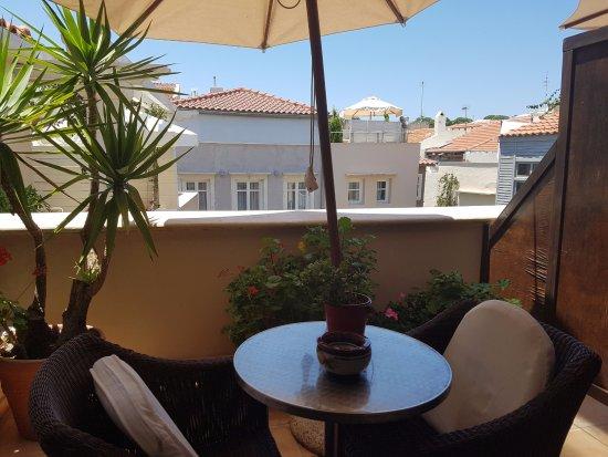 Rimondi Boutique Hotel: Une terrasse très agréable, chambre 107.