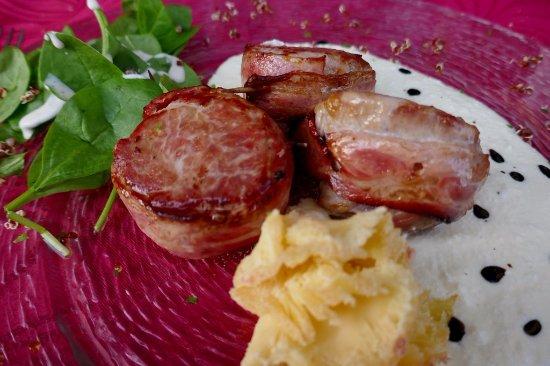 Pallanza, Włochy: Trockene Schweinefilets
