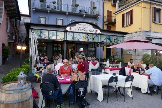 Pallanza, Włochy: Den Gästen schmeckt's .....