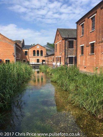 Whitchurch, UK: River Test and Mill