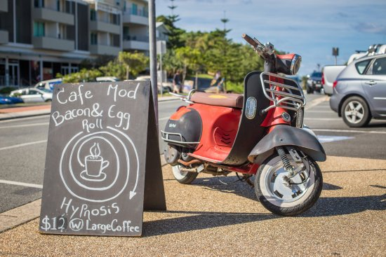 Cabarita Beach, Australia: Our beloved Vespa