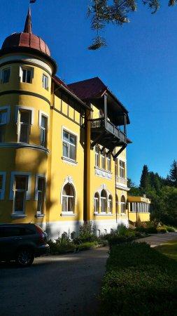 Kaplice, República Checa: Příchod k hotelu