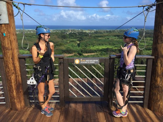 Kahuku, Havai: Zip-lining to the North Shore