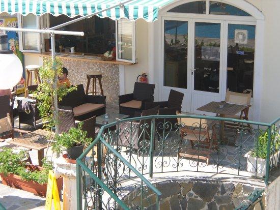 Acharavi, Greece: bar area
