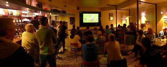 Brioude, Frankrike: ambiance rugby dans la salle