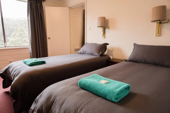 Thredbo Village, Australia: Twin room inside one of our family suites